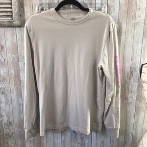 🌻 Men's American Eagle Long Sleeve Tan Shirt